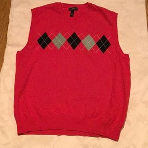 NWOT Club Room sweater vest- 100% cotton
